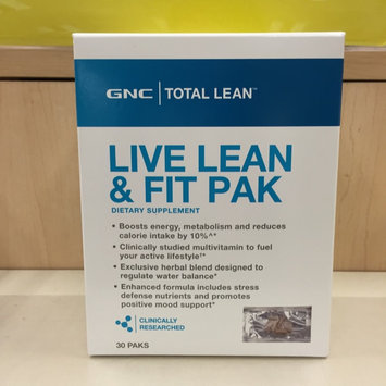 Photo of GNC Total Lean Live Lean & Fit Pak uploaded by Leslye R.