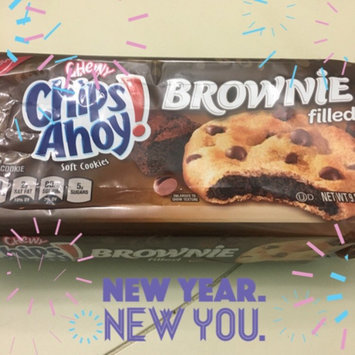 Photo of Nabisco Chips Ahoy! Chewy Brownie Soft Cookies uploaded by Stephanie W.