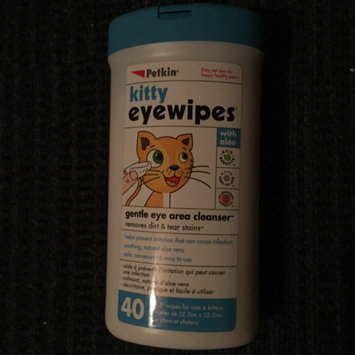 Photo of Cat Wipes for Eyes, By Petkin 40 Ct uploaded by Courtney B.