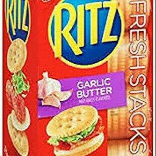 Nabisco® Ritz Crackerfuls Garlic Herb Filled Crackers uploaded by Tasha F.