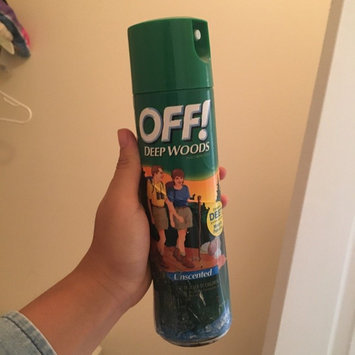 Photo of Off!® Deep Woods® Insect Repellent 11 oz. Aerosol Can uploaded by Reira W.