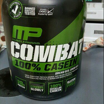 Photo of Muscle Pharm Combat Casein Supplement, Vanilla, 4 Pound uploaded by Eric W.