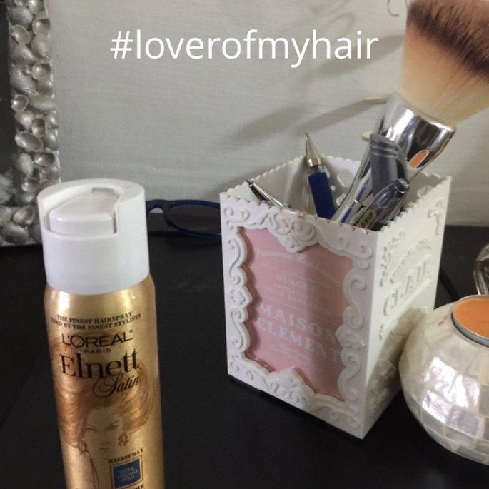 L'Oréal Elnett Satin Hairspray uploaded by PRIYA P.