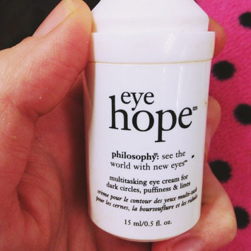 philosophy hope in a tube high-density eye and lip firming cream uploaded by Holly B.