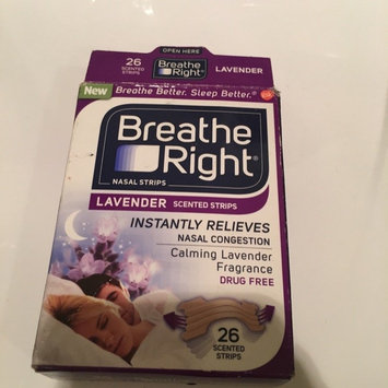 Breathe Right Lavender Scented Nasal Strips uploaded by Nikki I.