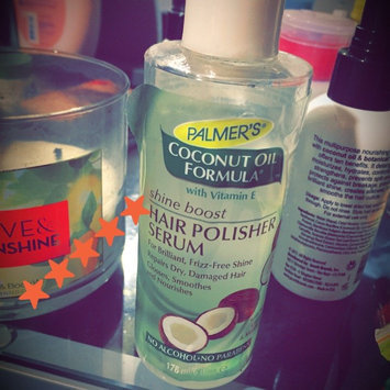 Palmers Palmer's Coconut Oil Formula Shine Serum Hair Polisher 6-oz. uploaded by Annette B.