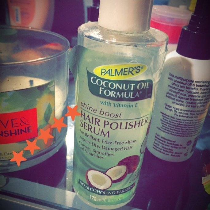 Palmers Palmer's Coconut Oil Formula Shine Serum Hair Polisher 6-oz. uploaded by Annette B.