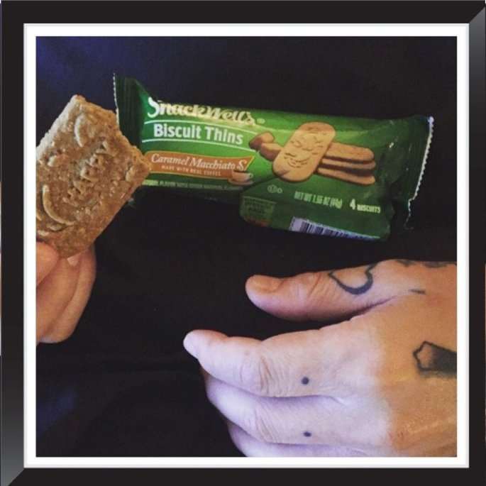 SnackWell's Caramel Macchiato Biscuit Thins uploaded by Nancy C.