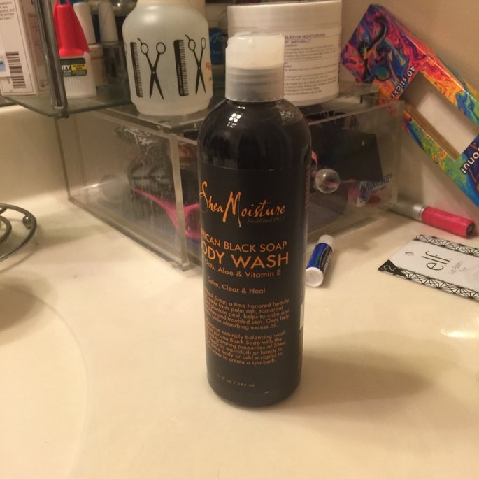 Shea Moisture Organic Argan Oil Raw Shea Body Scrub   uploaded by Tawana R.