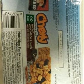 Photo of Quaker® Chewy 90 Calories, Low Fat Chocolate Chunk uploaded by Denise L.