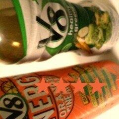 V8 V-Fusion® + Energy Orange Pineapple Vegetable & Fruit Juice 8 fl oz Can uploaded by Sherrica J.