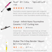 Infiniti Pro by Conair 1.5-Inch Nano Tourmaline Ceramic Curling Iron uploaded by Candace S.