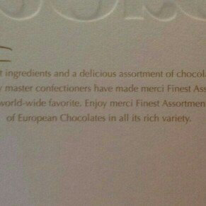 Photo of Storck Merci Finest Assortment of European Chocolates 7 oz uploaded by Rachel L.