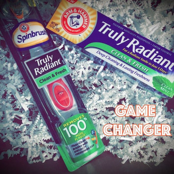 Truly Radiant by Arm & Hammer Truly Radiant Powered Toothbrush, Extra White, 2 ea uploaded by Sarah E.