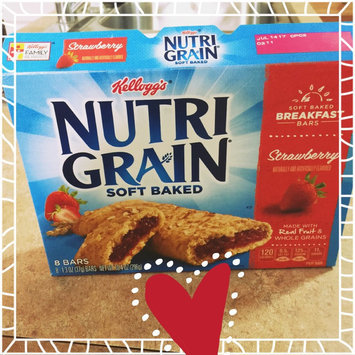 Kellogg's Nutri-Grain Strawberry Cereal Bars uploaded by Jenna M.