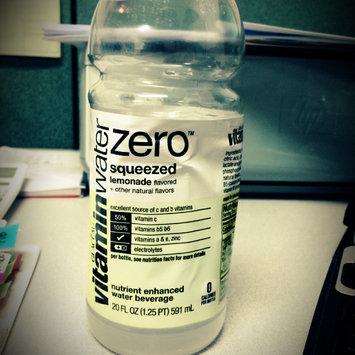 Photo of vitaminwater Zero Squeezed Lemonade uploaded by Jacquie B.