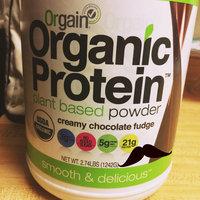 Organic Protein Creamy Chocolate Fudge Flavor, 2.74 Lb uploaded by Mariana R.