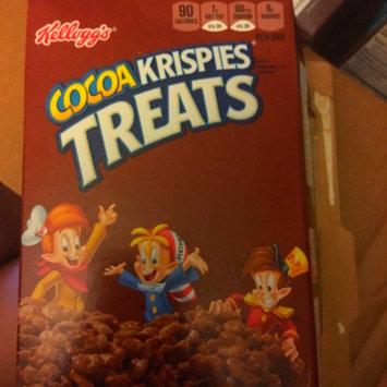 Photo of Kellogg's® Cocoa Krispies Treats™ Crispy Marshmallow Squares 8-0.7 oz. Box uploaded by Christina L.