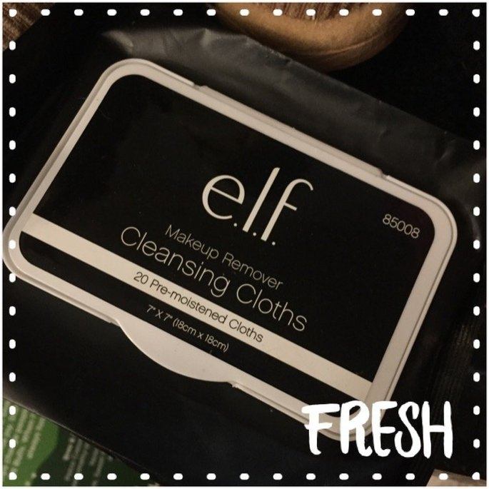 e.l.f. Studio Makeup Remover Cleansing Cloths uploaded by Krisily K.