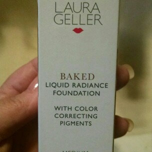 Photo of Laura Geller Beauty Baked Liquid Radiance Foundation With Color Correcting Pigments uploaded by Wendy H.