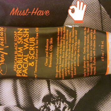 SheaMoisture African Black Soap Problem Skin Facial Wash & Scrub uploaded by Tabitha B.