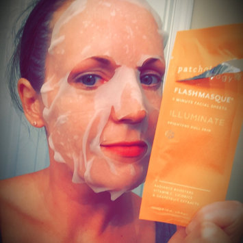 Photo of Illuminate FlashMasque Facial Sheets (8 Count) - Patchology uploaded by Elizabeth T.
