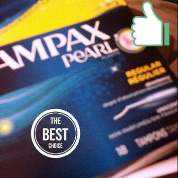 Photo of Tampax Pearl Regular uploaded by Ashley S.