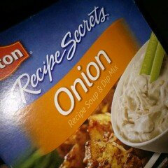 Photo of Lipton® Recipe Secrets Onion Recipe Soup & Dip Mix uploaded by Danielle P.