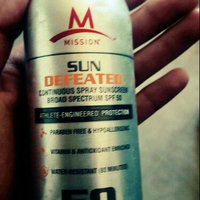MISSION Athletecare Sun Defeated Continuous Spray Sunscreen SPF50+ uploaded by Miguel S.