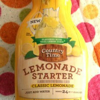 COUNTRY TIME Lemonade Starter Classic Lemonade Beverage-Liquid Concentrate Bottle uploaded by Lynnette L.