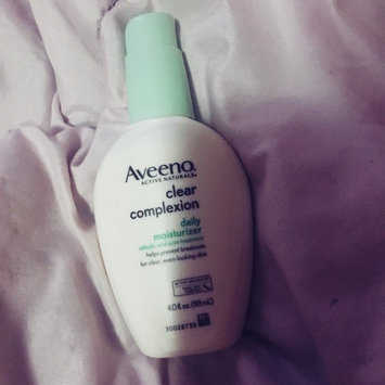 Photo of Aveeno® Clear Complexion Daily Moisturizer uploaded by Kayla H.