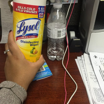 Lysol Disinfecting Wipes - Lemon uploaded by Kendra N.
