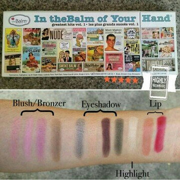Photo of the Balm - In the Balm of Your Hand Greatest Hits Vol 1 Holiday Face Palette uploaded by Mary C.