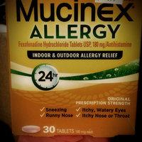 Mucinex Allergy 24 Hour Indoor & Outdoor Allergy Relief Tablets uploaded by Cara M.