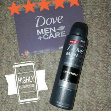 Photo of Dove Men+Care Antiperspirant Dry Spray Invisible uploaded by Tina B.