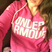 Under Armour Women's UA Favorite Fleece Hoodie [Black/White, Medium] uploaded by Sarah M.