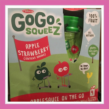 Photo of GoGo SQUEEZ APPLE STRAWBERRY APPLESAUCE ON THE GO uploaded by Kristin E.