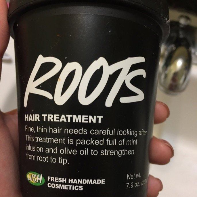Lush Cosmetics Roots Hair Treatment uploaded by Alba R.
