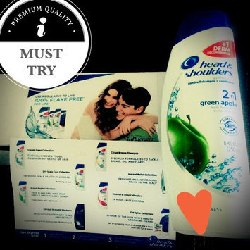 Photo of Head & Shoulders Green Apple 2-in-1 Dandruff Shampoo & Conditioner uploaded by Bella L.