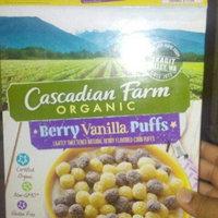 Cascadian Farm® Organic Berry Vanilla Puff Cereal 10.25 oz. Box uploaded by Brenda R.