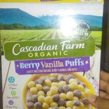 Photo of Cascadian Farm® Organic Berry Vanilla Puff Cereal 10.25 oz. Box uploaded by Brenda R.