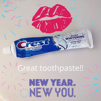 Photo of Crest Complete Extra Whitening Clean Mint Toothpaste uploaded by Jill H.