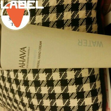 Photo of Ahava Deadsea Water Mineral Hand Cream 50pct More Limited Edition uploaded by monica  S.
