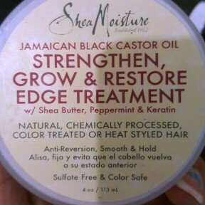 Sheamoisture SheaMoisture Strengthen, Grow & Restore Edge Treatment, Jamaican Black Castor Oil, 4 oz uploaded by Jelissa B.