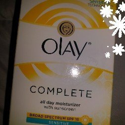 Olay Complete Cream All Day Moisturizer with SPF 15 for Sensitive Skin uploaded by Kasey J.