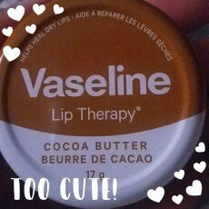 Vaseline® Lip Therapy® Cocoa Butter Lips Lip Balm Tin uploaded by Taiyewo A.