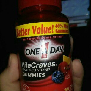 Photo of One A Day VitaCraves Gummies Complete Adult Multivitamin/Multimineral Supplement uploaded by Lara R.
