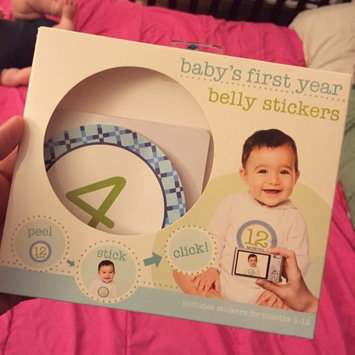 Photo of Stepping Stones Baby's First Year Belly Stickers (Boy) uploaded by Jahara C.