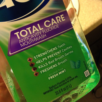 Photo of ACT Total Care Anticavity Fluoride Rinse Fresh Mint uploaded by Emily M.