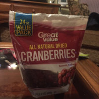 Great Value All Natural Dried Cranberries, 24 oz uploaded by Amy W.